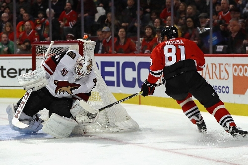 The Arizona Coyotes fail to show up at Chicago Blackhawks fixture