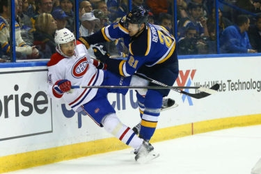 About last night … Blues rally, edge Canadiens 3-2 in OT