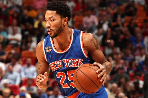 Derrick Rose may miss Cavaliers showdown with back spasms