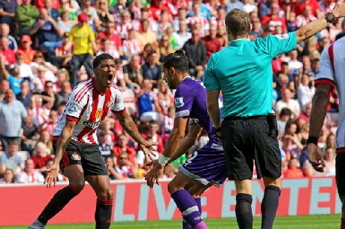 Who will referee Sunderland's Premier League trip to Swansea City?