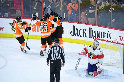 Voracek gives Flyers 3-2 overtime win over Panthers