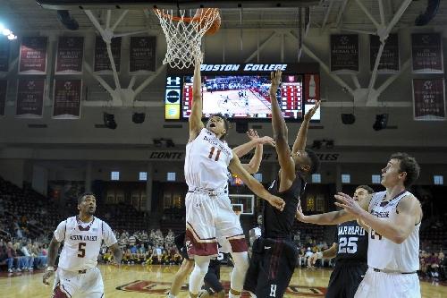 Boston College Men's Basketball vs. Harvard: Game Time, TV Info and More