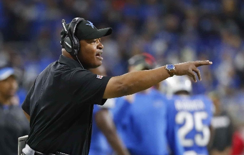 Where does Lions' Jim Caldwell fit into the NFL Coach of the Year discussion?
