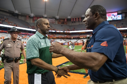 Did Syracuse time USF series poorly or just right with Willie Taggart off to Oregon?