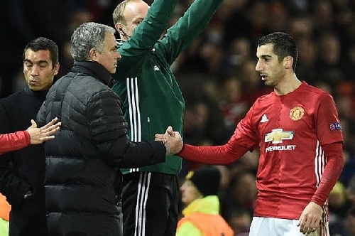 Manchester United star Mkhitaryan makes vow after troubled start