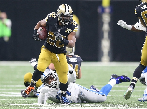 Saints' Mark Ingram, Michael Thomas among 5 players not on practice field Wednesday