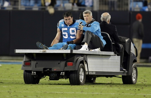 Panthers LB Kuechly returns to practice, status uncertain The Associated Press
