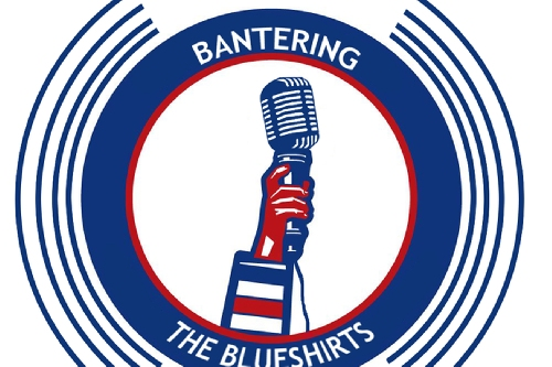 Bantering The Blueshirts Tonight At 8!