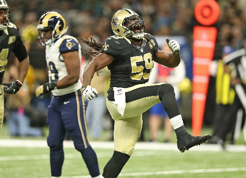 Saints' Dannell Ellerbe producing as a pass rusher at career-best rate