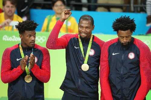 Kevin Durant earns second USA Basketball Male Athlete of the Year Award