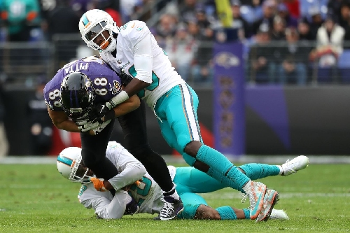 Dolphins defensive snap counts from Week 13 (at Ravens)