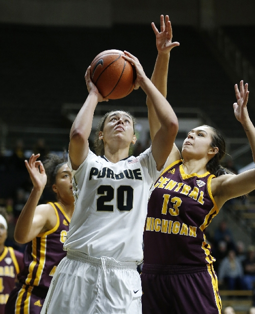 Purdue women recover after slow start