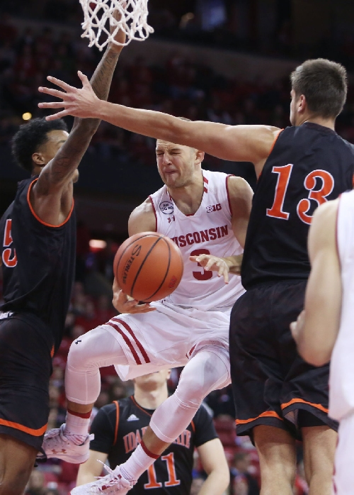 Badgers men's basketball: Seen and Heard at the Kohl Center