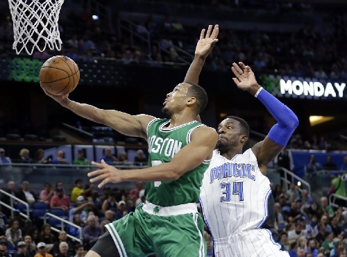 Bradley, Celtics roll to 117-87 victory over Magic The Associated Press