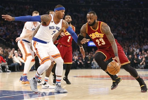 Cavs make season-high 22 3-pointers in 126-94 win over Knicks