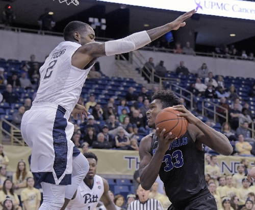 Pitt fails to close out Buffalo in first half, hangs on for 84-79 victory