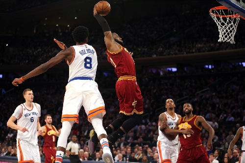 Final Score: Cavaliers dominate the Knicks 126-94