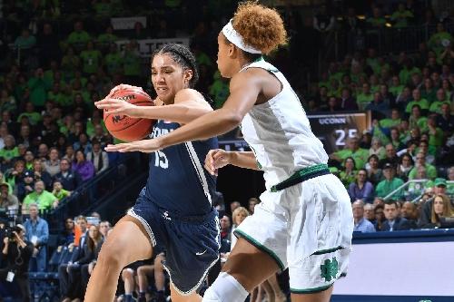 UConn Women's Basketball Overwhelms No. 2 Notre Dame, 72-61