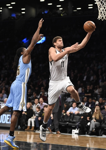 Lopez scores 24, Nets beat Nuggets 116-111 The Associated Press