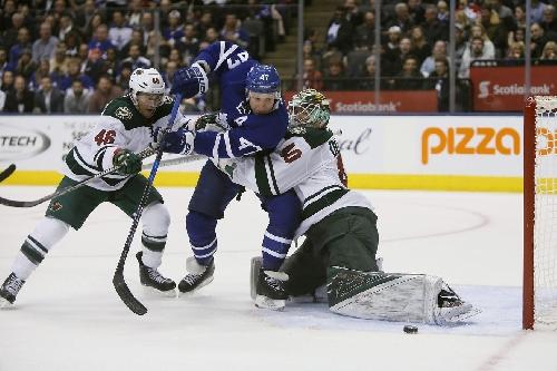 Game Recap: Minnesota Wild 3 at Toronto Maple Leafs 2