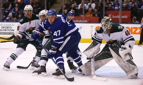 Dubnyk terrific as Maple Leafs lose to Wild once again [Video]