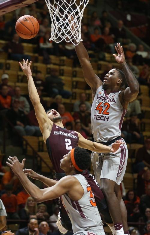 LeDay, Allen help Virginia Tech men win fourth straight