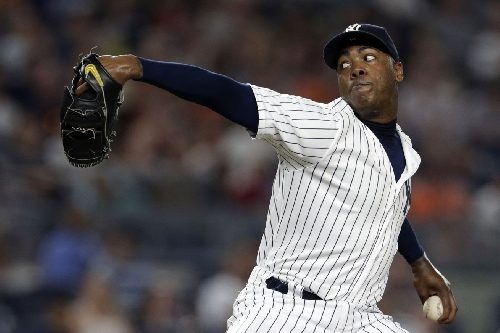 Yankees sign Aroldis Chapman to five-year, $86 million contract