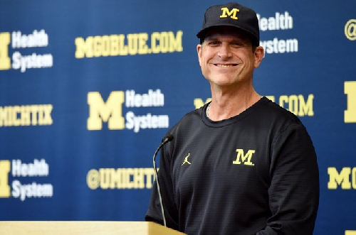 Jim Harbaugh's a big fan of Florida State's football traditions