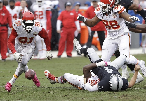 NFL Week 14 schedule: Dee Ford off injury list for Chiefs-Raiders showdown on Thursday night