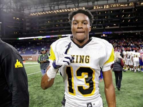 New Michigan commit Ambry Thomas struggled between Wolverines, Spartans for 'quite some time'