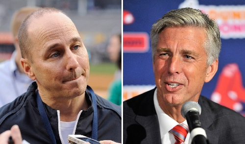 Red Sox's Dave Dombrowski puts arm around Yankees' Brian Cashman, tell him 'the monster is back' (report)