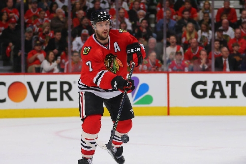 Blackhawks' Brent Seabrook will miss Rangers game with upper-body injury