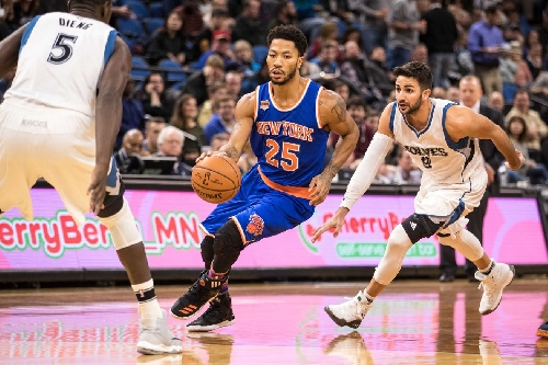 Are Derrick Rose's drives to the basket helping the Knicks' offense?