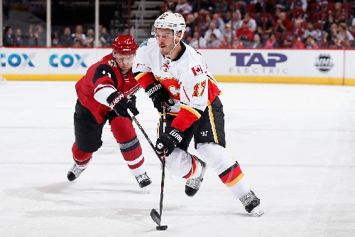Projected Lines: Calgary Flames @ Arizona Coyotes