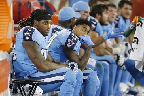 Heisman winner Derrick Henry now patient backup with Titans The Associated Press