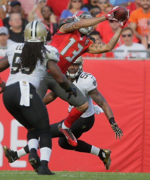 New Orleans Saints to face elite receiver Mike Evans not once, but twice in three weeks