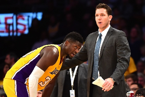 Luke Walton says the Lakers are at their best when they're having fun