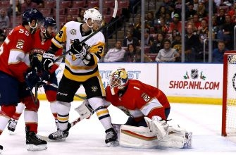 Panthers routed by Penguins in return home after long road trip
