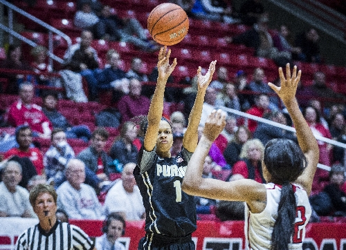 Defense carries Purdue women past Ball State