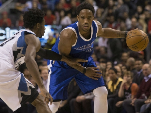 Toronto Raptors spoil Andrew Wiggins' homecoming by rolling past Minnesota Timberwolves 124-110
