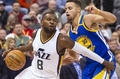Overmatched Jazz give gutsy effort in 106-99 loss to Warriors