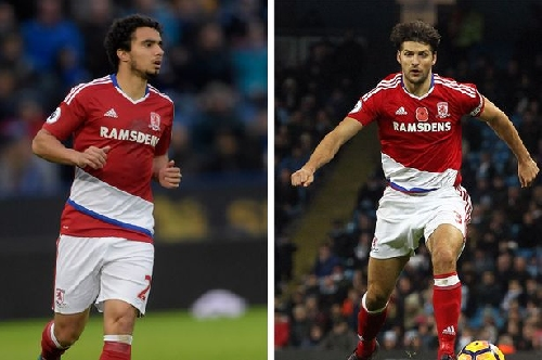 Fabio & George Friend: The pals and rivals ready to fight for a Middlesbrough shirt