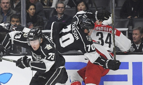 Ryan scores twice to lift Canes over Kings 3-1 The Associated Press