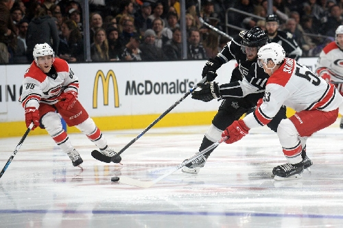 Carolina Hurricanes Avoid Third Period Woes, Defeat the Los Angeles Kings 3-1