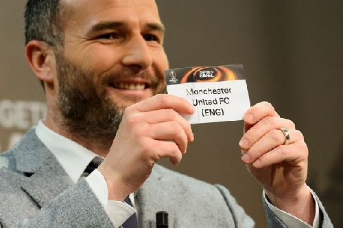 Who can Manchester United draw in the next round of the Europa League?