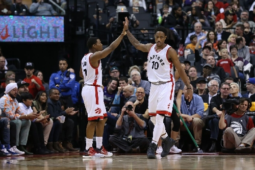 Kyle Lowry and DeMar DeRozan are the NBA's best brothers