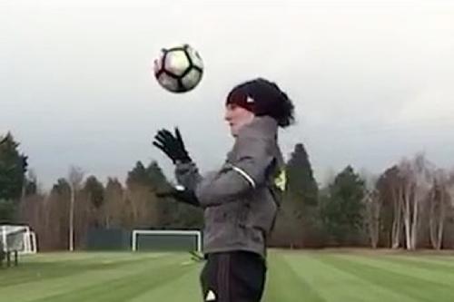 David Luiz posts video of training as Antonio Conte delivers happy news regarding injuries