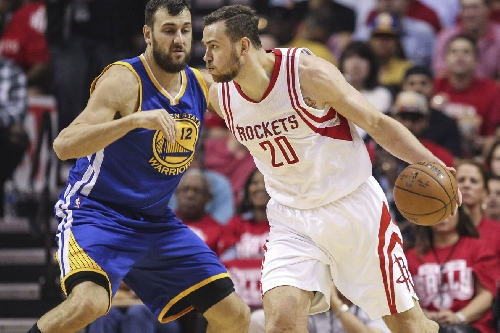 Donatas Motiejunas has officially returned to the Rockets