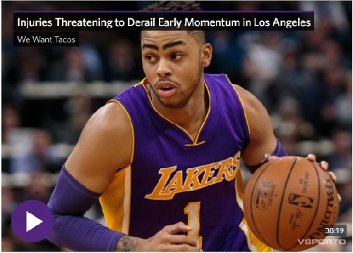 Lakers podcast: Injuries Threatening to Derail Early Momentum