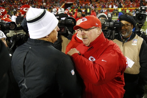 Andy Reid: Jack Del Rio and I are actually good friends